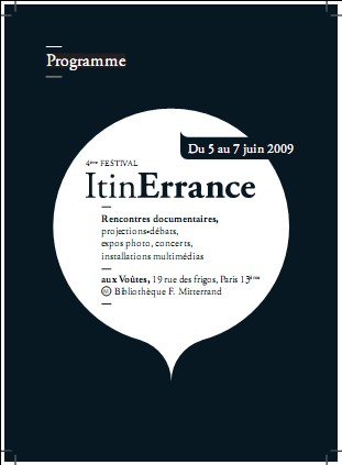 festival itinERRANCE